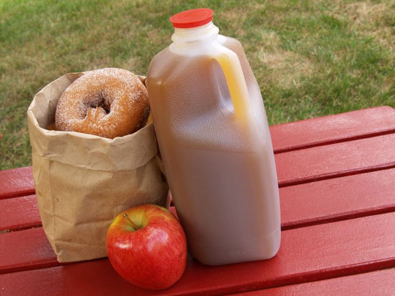 Attraction Apple Cider and Donuts